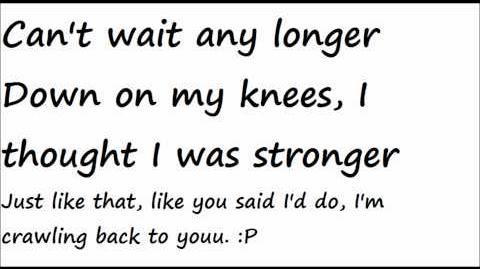 Daughtry-Crawling Back To You Lyrics