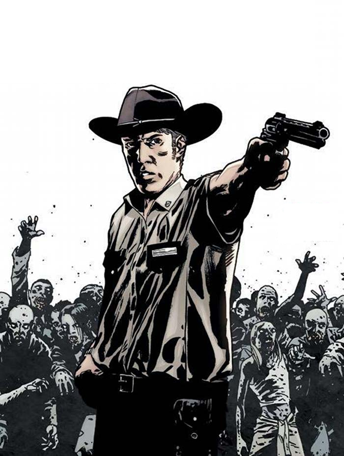 Rick Grimes Comic Book Character | www.imgkid.com - The ...