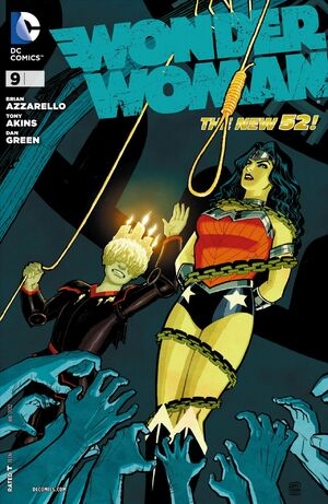 Cover for Wonder Woman #9 (2012)