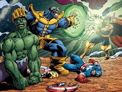 Image Thanos Vs Avengers Jpg Villains Wiki Villains