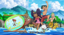 Ash, Iris, and Cilan in bathing suits.png