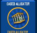 Caged Alligator