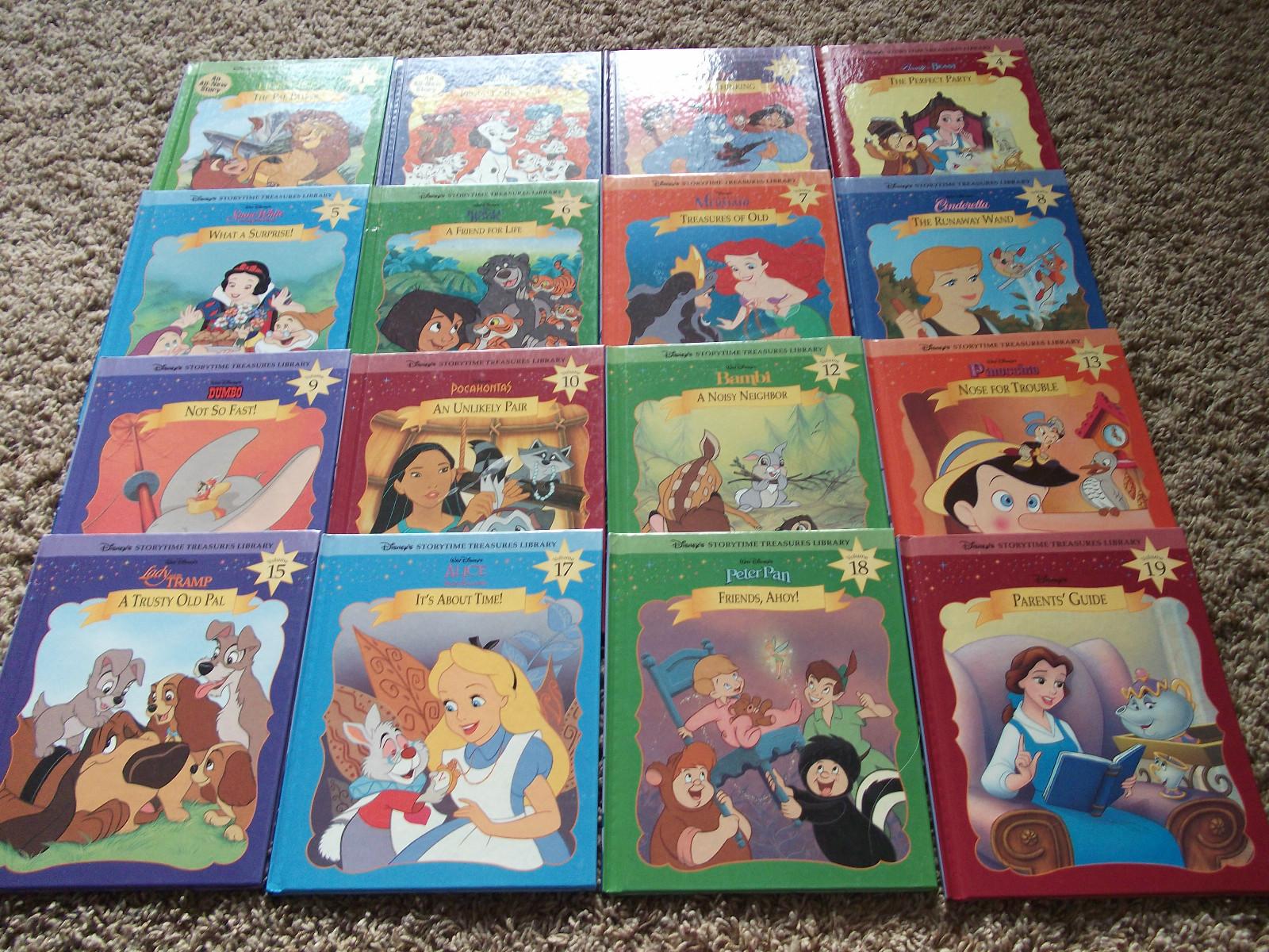 Disney S Storytime Treasures Library Disney Wiki