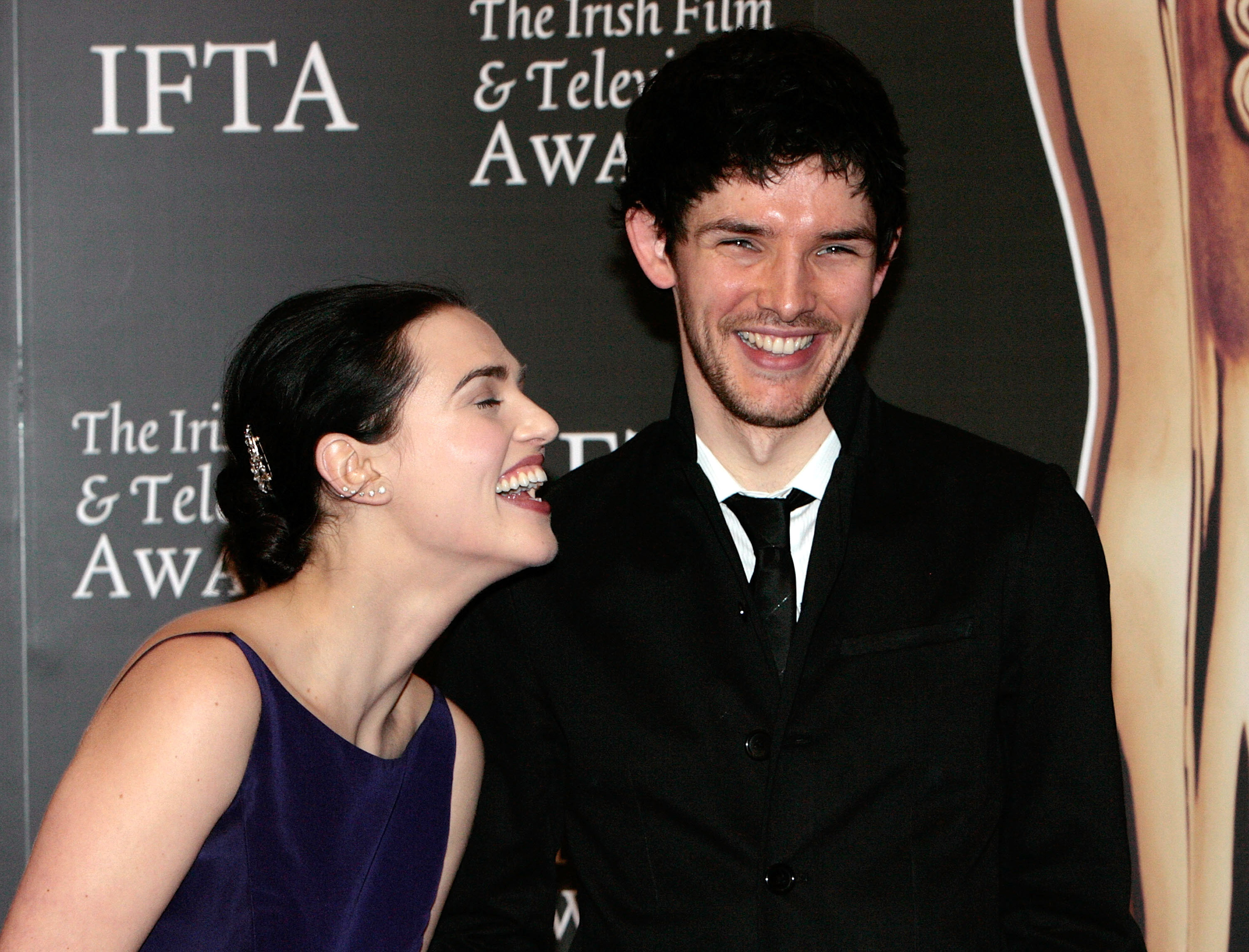 Image Katie Mcgrath And Colin Morgan 5 Jpg Merlin Wiki