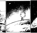 Calvin in Unexplained Giant Form