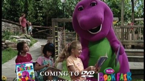 Barney Book Fair  Clip Booksarefun