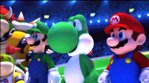 Mario And Sonic At The Olympic Winter Games (VG) (2009) - Opening ceremonies trailer