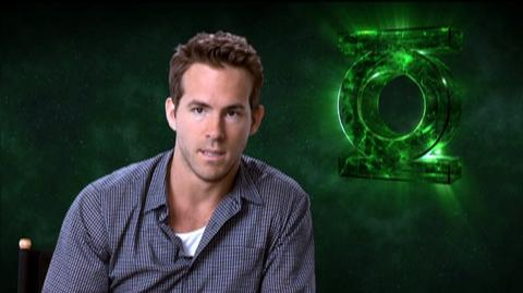 "Green Lantern (2011) - Interview ""Ryan Reynolds On Director Martin Campbell"""