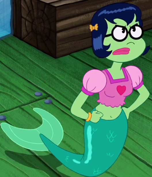Sponge bob mermaid girl movie