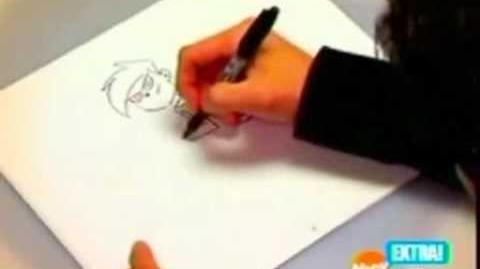 Butch Hartman Drawing Danny Phantom