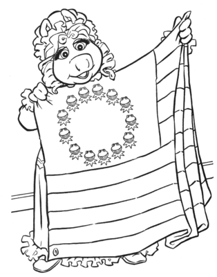 Muppets christmas carol pages coloring pages for Christmas carol coloring pages