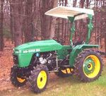 Ag-Boss 284 MFWD (green) - 2001