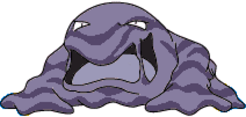 pokemon muk coloring pages - photo#45