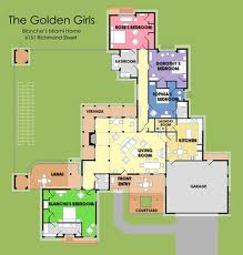 File The Golden Girls House Floorplan on living room house plan