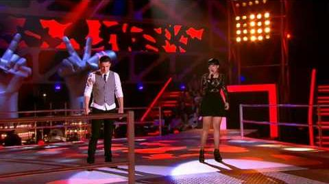 The Voice Australia Mitchell vs Fatai V - I Love The Way You Lie