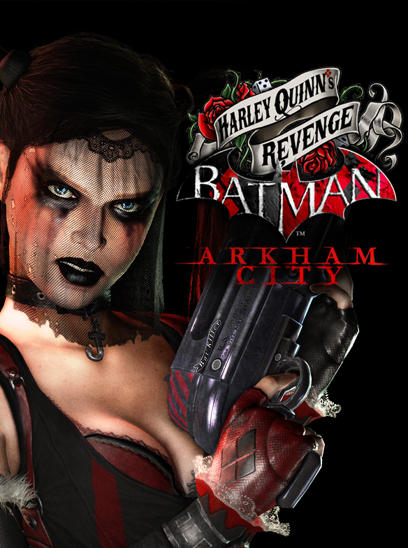 Batman Arkham City Armored Edition artwork   Harley Quinns Revenge 1 Harley Quinn: A Retrospective