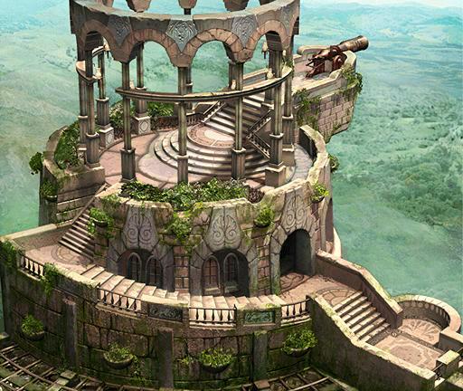 Fantasy desert castle the image kid has it for Final fortress blueprints