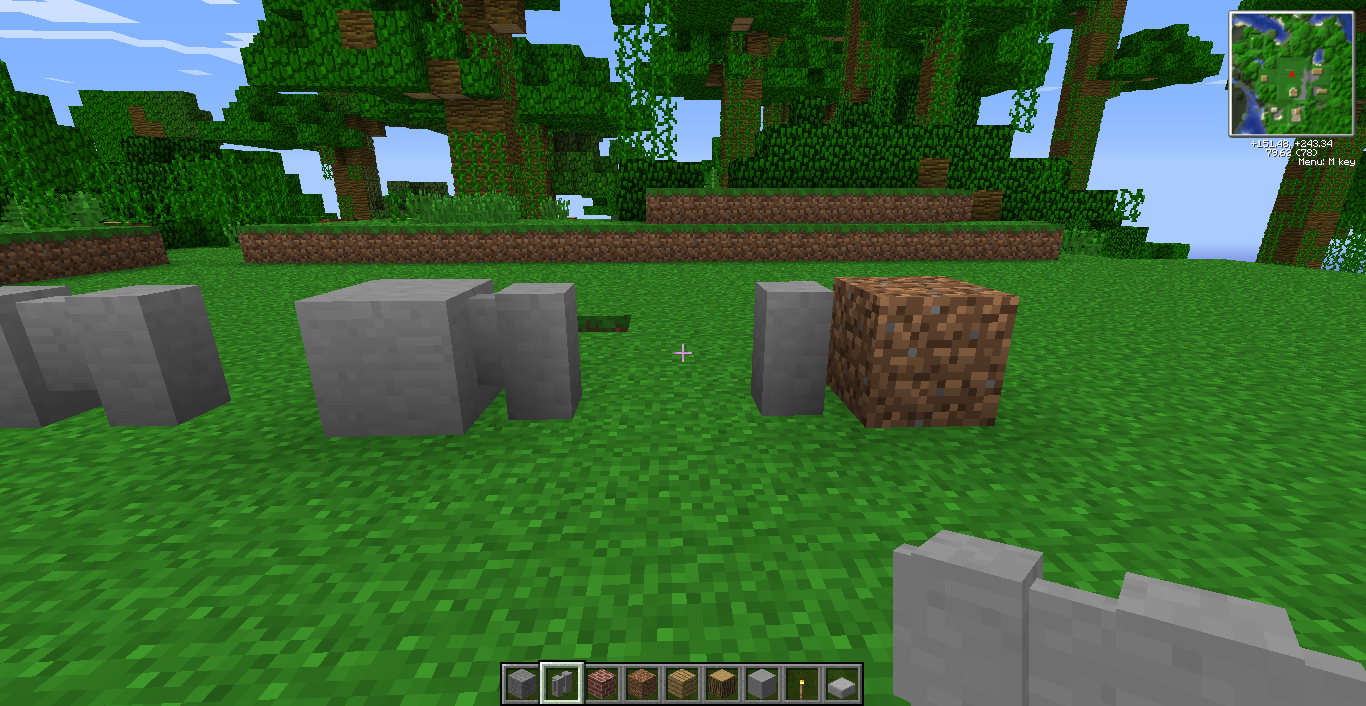 how to make concrete minecraft