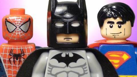 The Lego Batman, Spider-Man, & Superman Movie