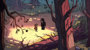 S1e1 mabel and norman in woods