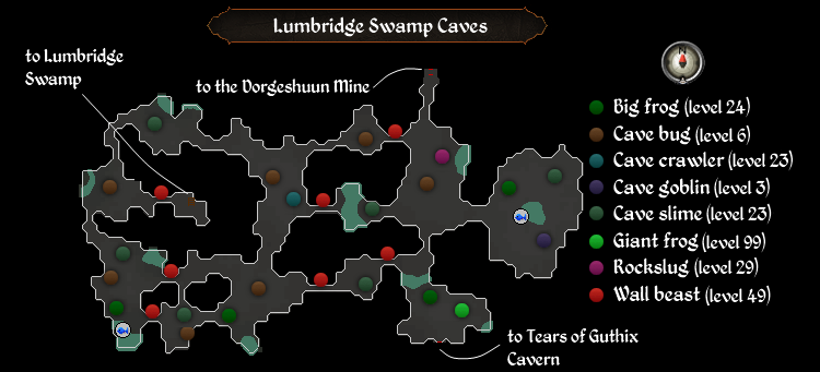 Image lumbridge swamp caves mapg old school runescape wiki lumbridge swamp caves mapg gumiabroncs Gallery