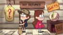 S1e1 dipper and mabel in mystery shack.png