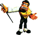 Swanky Artwork - Donkey Kong Country 3.png