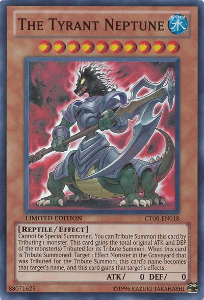 The Tyrant Neptune Yu Gi Oh