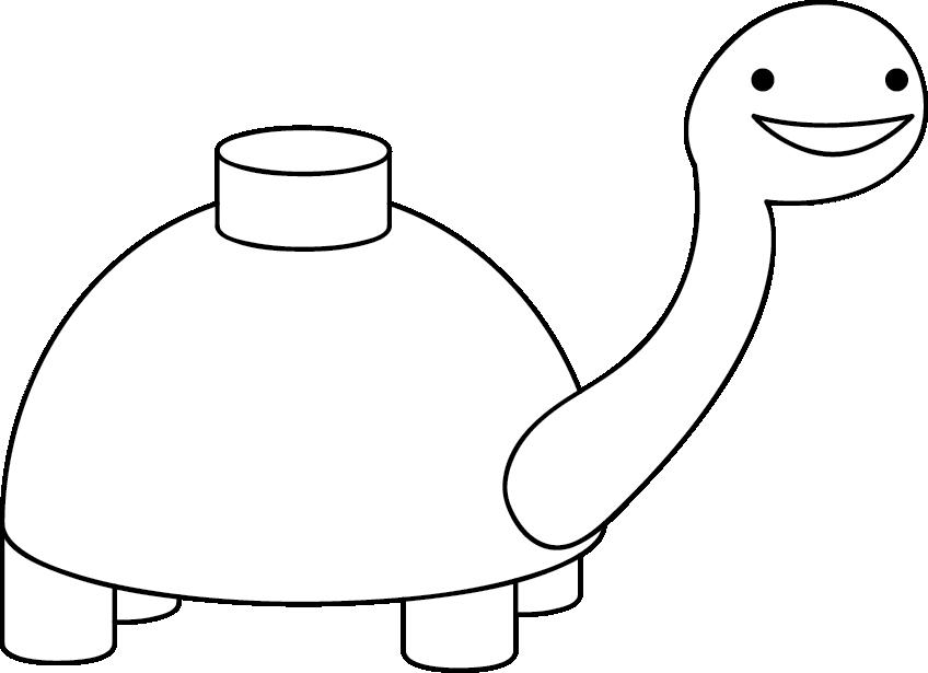 Rainbow coloring page - Asdf Mine Turtle Memes