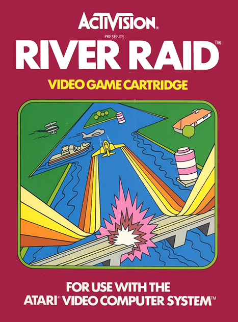 how to play river raid on iphone