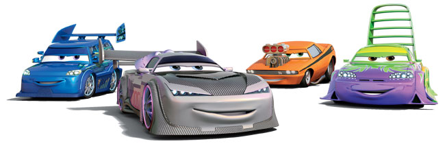 Cars Mater National Characters
