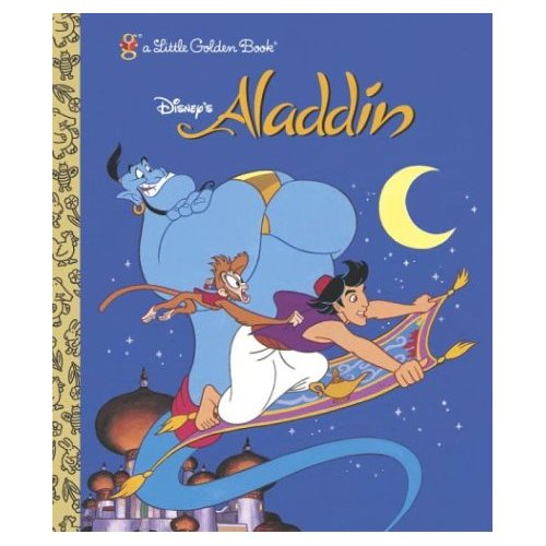 aladdin little golden book