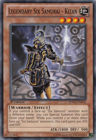 Card Errata:Legendary Six Samurai