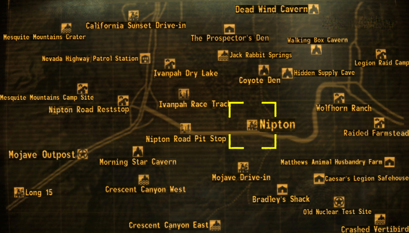 Nipton The Fallout wiki Fallout New Vegas and more