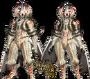 White Fatalis Z Armor (Gunner)