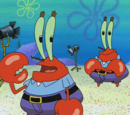 Mr. Krabs' double