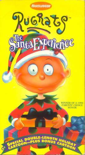 Image The Santa Experience 1996 Vhs Jpg Rugrats Wiki