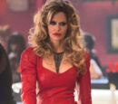Pam's Red Leather Dress