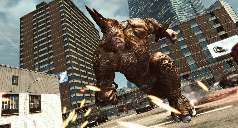 Spiderman movie rhino - photo#27