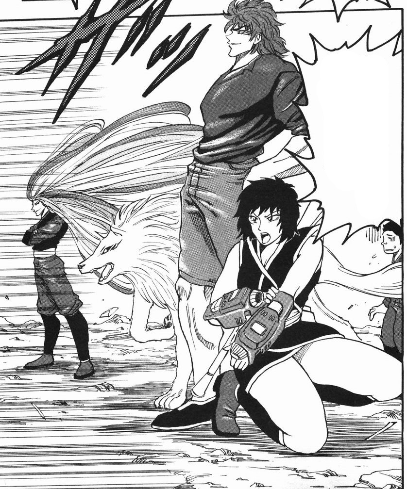 Toriko Angry At Starjun Jpg: Toriko, Rin, Terry, Sunny And Komatsu Going Out