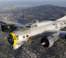 Partial airframes / B-17's