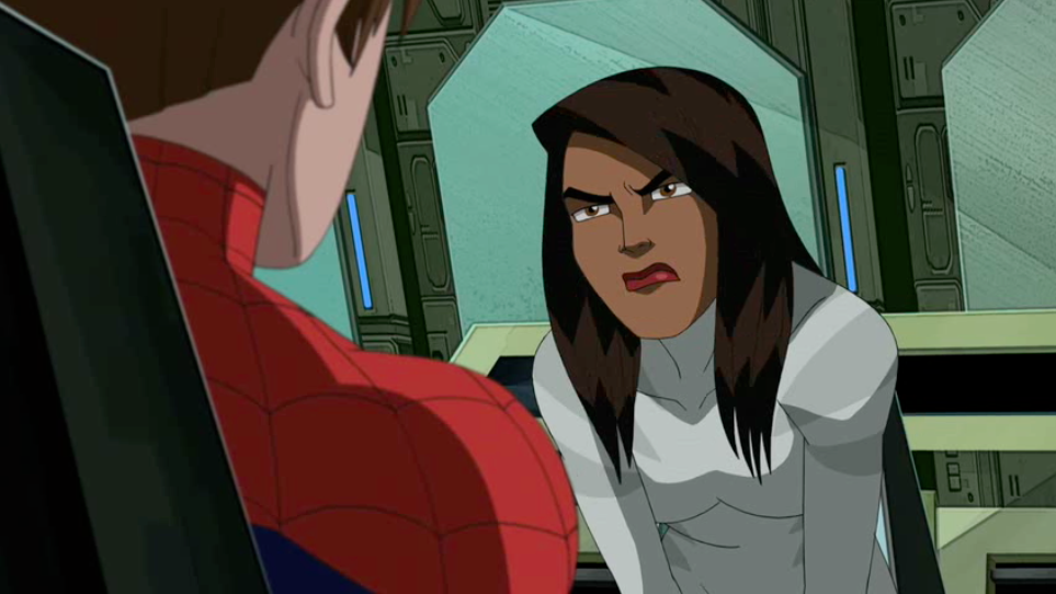 Ultimate spiderman white tiger dark side - photo#9