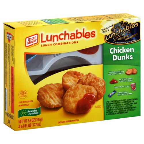 Lunchables Chicken Lunchables Chicken Dunks