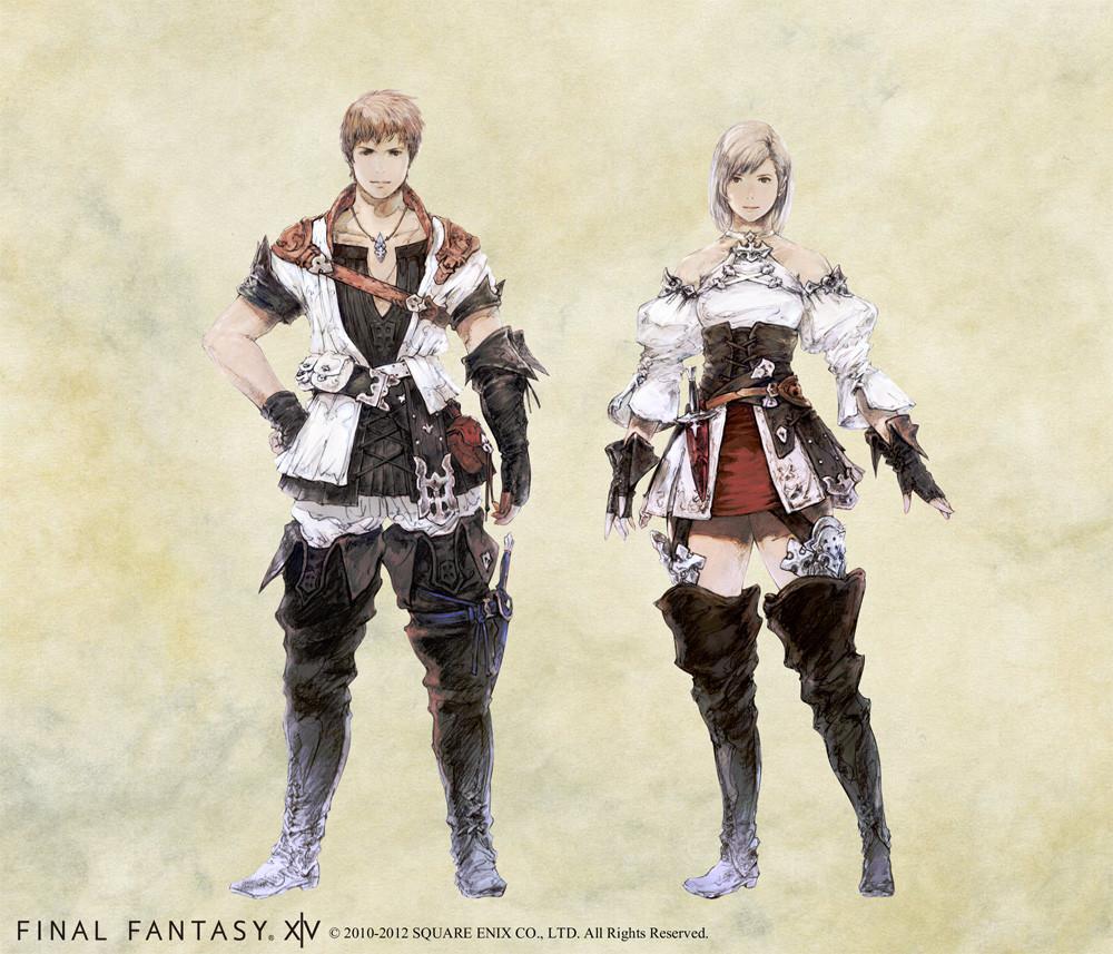 Final fantasy xiv hyur female - photo#28
