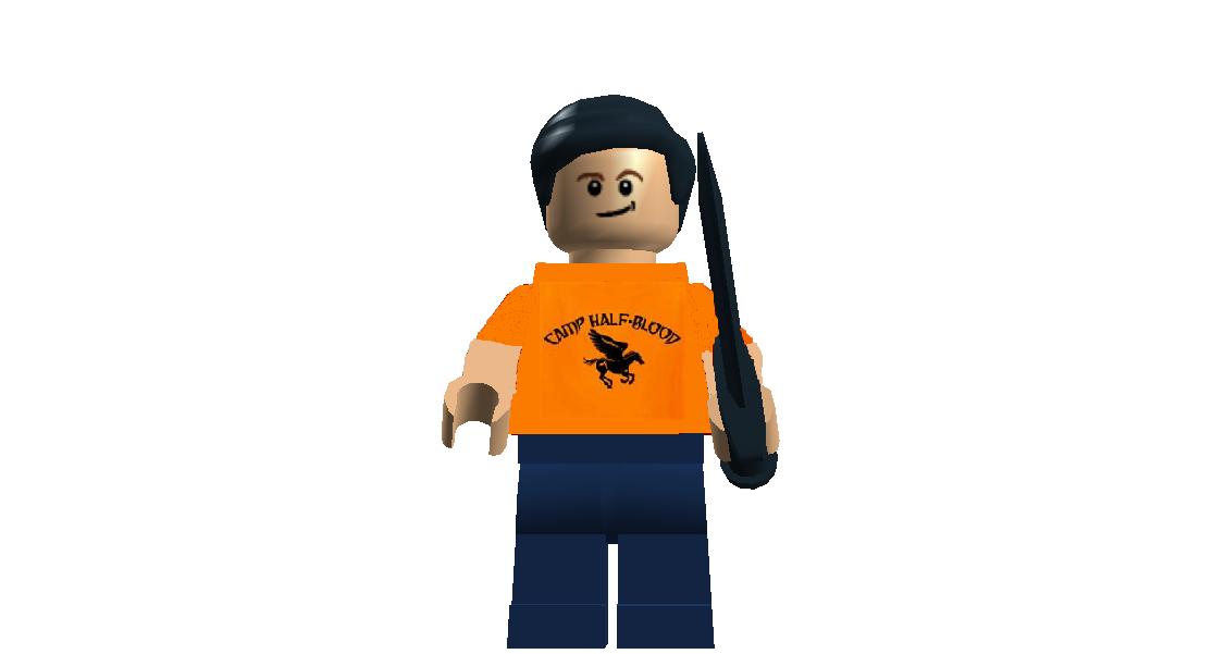 Custom:Percy Jackson and the Olympians - Brickipedia, the ...  Lego Percy Jackson Luke