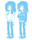 SECONDS Promo Tumblr UnknownFemaleCharacter Concept Art Sketch Blue.png