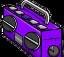 Purple Boom Box