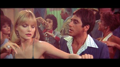 Scarface Limited Edition Blu-ray (1983) - Clip Tony And Elvira In Dance Club