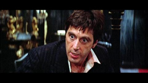 Scarface Limited Edition Blu-ray (1983) - Clip Say Hello To My Little Friend