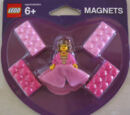 4494729 Minifigure Princess Magnet